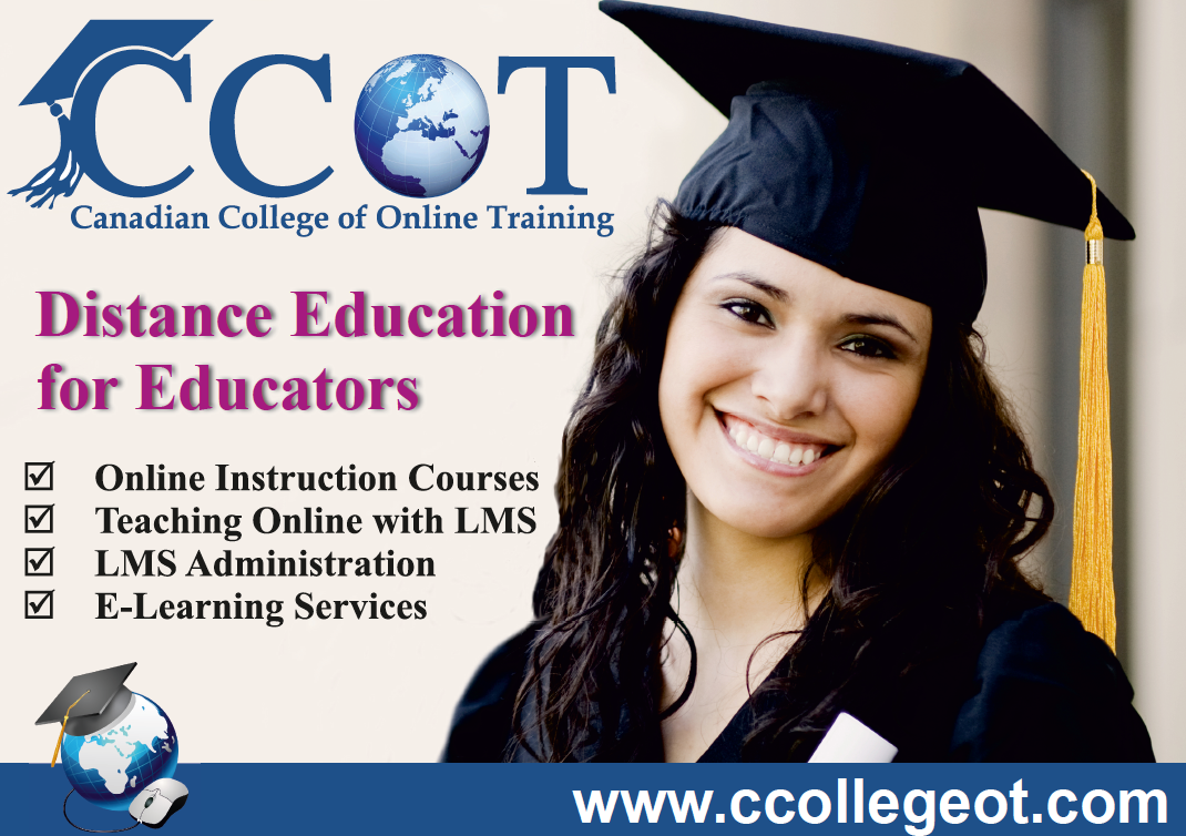 Distance Education for Educators, Canadian College of Online Training, Toronto